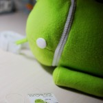 android plush bag
